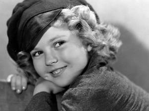Retrato não datado de Shirley Temple, estrela mirim na década de 1930 (Foto: AFP/Arquivo)