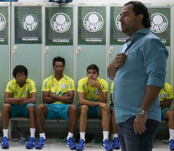 Alexandre Mattos Palmeiras (Foto: Cesar Greco / Ag. Palmeiras)