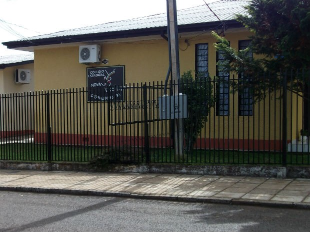 Escola onde estudou Elize Matsunaga (Foto: Cassiane Seghatti/G1)