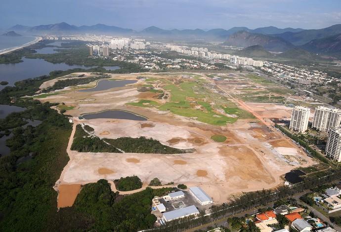 instalações do Campo de Golfe Rio 2016 (Foto: André Durão)