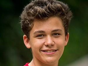 Gabriel Kaufmann é Arthur, aluno do Colégio Dom Fernão, na nova temporada de Malhação (Foto: João Cotta / TV Globo)