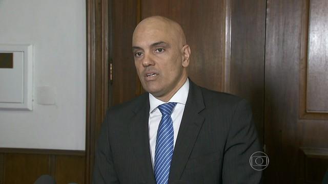 Secretário de Segurança Pública de São Paulo, Alexandre de Moraes (Foto: Reprodução)