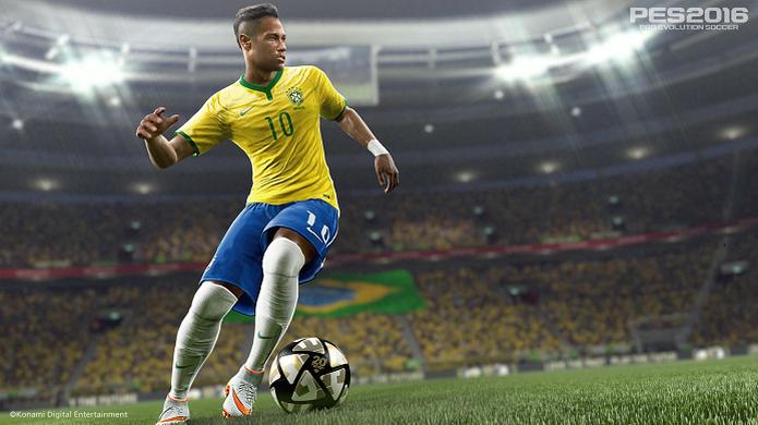 Neymar é o garoto-propaganda de PES 2016 (Foto: Divulgação/Konami) (Foto: Neymar é o garoto-propaganda de PES 2016 (Foto: Divulgação/Konami))