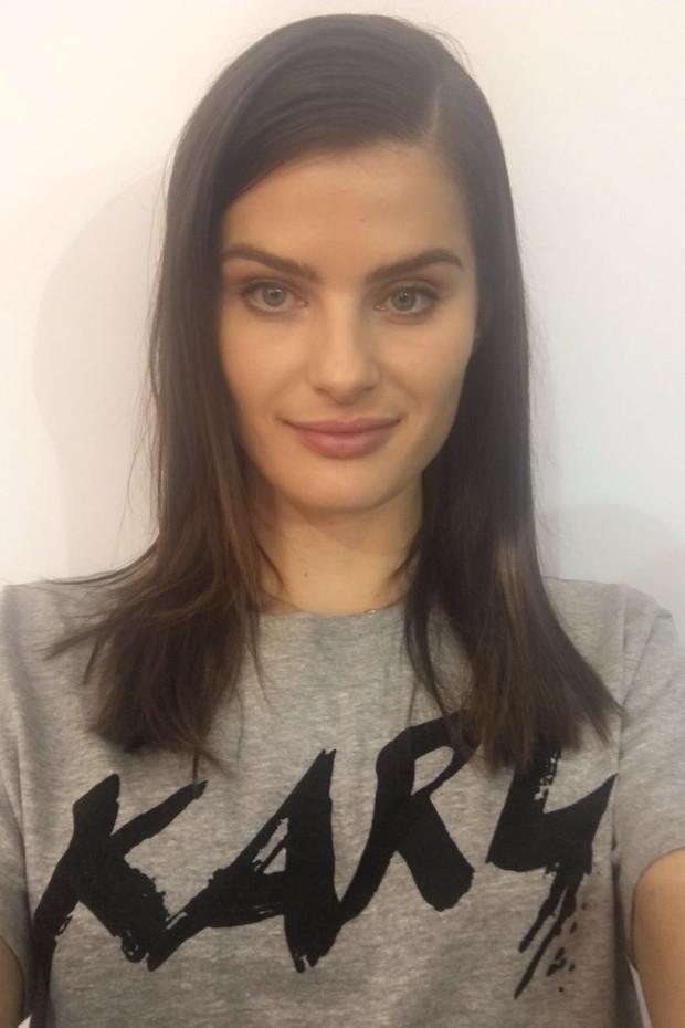 Isabeli Fontana (Foto: Vogue Brasil)