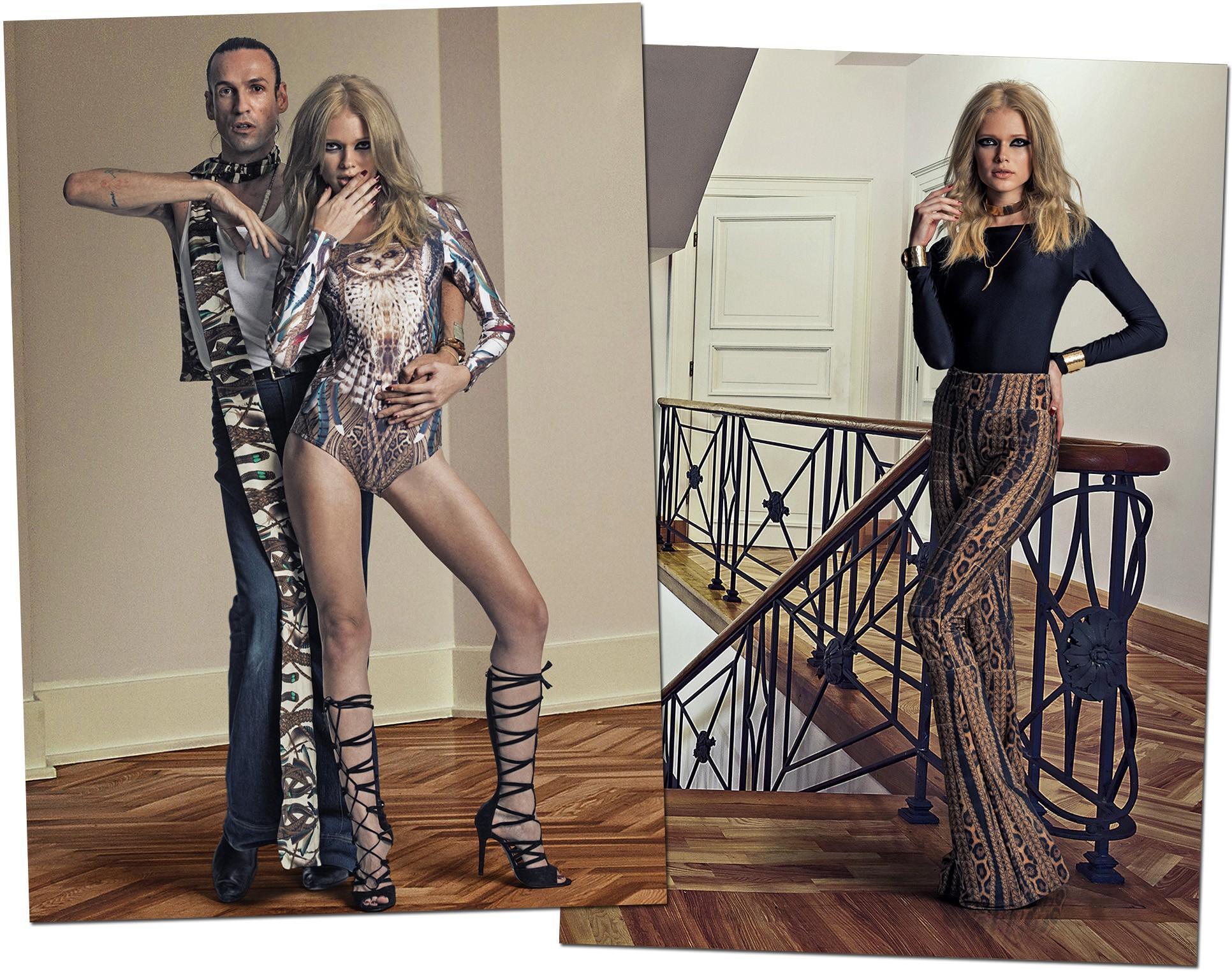 Campanha assinada por Dudu Bertholini, o primeiro stylist a participar de novo projeto da Tigresse (Foto: Divulgação)