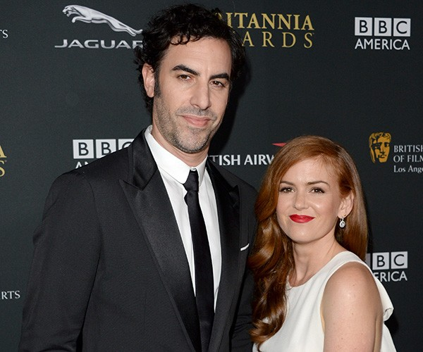 Sasha Baron Cohen e Isla Fisher (Foto: Getty Images)
