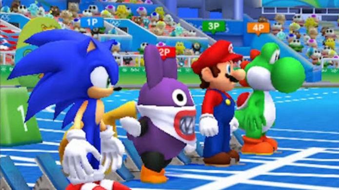 Mario & Sonic at the Rio 2016 Olympic Games tem um elenco rico, mas limitado (Foto: Divulgação/Nintendo)