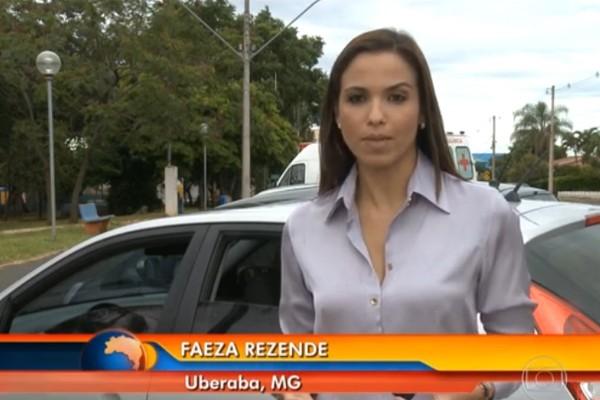 Faeza Rezende falou para o Bom Dia Brasil diretamente de Uberaba, Minas Gerais.  (Foto: Divulgação | TV Integração )
