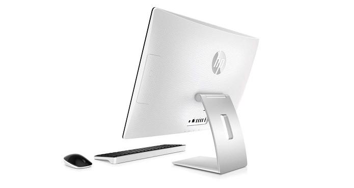Modelo da HP traz detalhes em branco e base em alumínio (Foto: Divulgação/HP) (Foto: Modelo da HP traz detalhes em branco e base em alumínio (Foto: Divulgação/HP))
