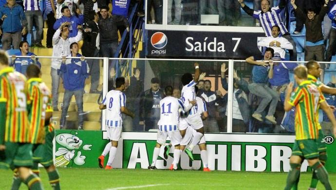 Vitória Avaí sobre Sampaio Corrêa (Foto: Jamira Furlani/Avaí FC)