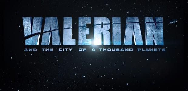 Luc Besson divulgou a cara de sua nova produção, 'Valerian and the City of a Thosaund Planets' (Foto: Divulgação)
