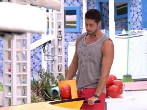 BBB às 11h34m do dia 15/02. (Foto: Big Brother Brasil)