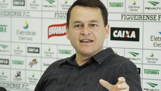 Leandro Niehues, coordenador de futebol do Figueirense (Foto: Luiz Henrique, Divulgação / Figueirense FC)