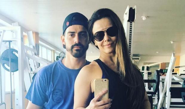 Radamés com Viviane Araújo (Foto: Reprodução/Instagram)