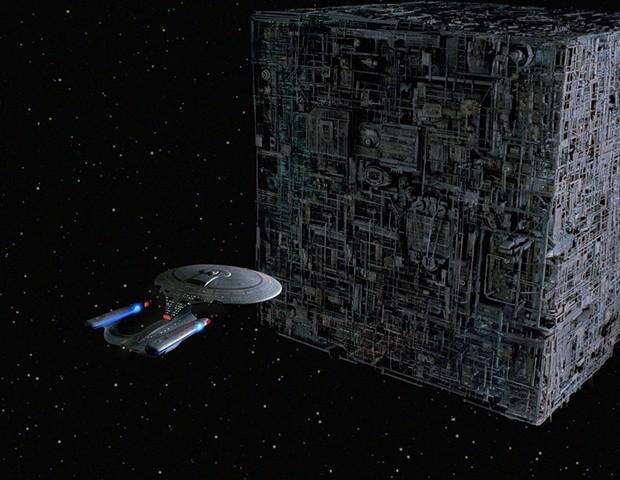 Q Quem ( Star Trek A Nova Geração) (Foto: reprodução)