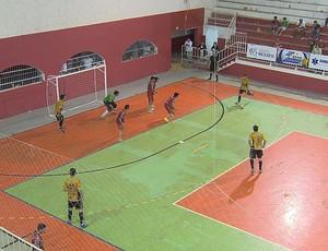 Prados e Pequeri semifinal Copa TV Integração de Futsal (Foto: Reprodução/ TV Integração)