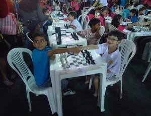 O garoto de sete anos treina há menos de um ano (Foto: Divulgação)