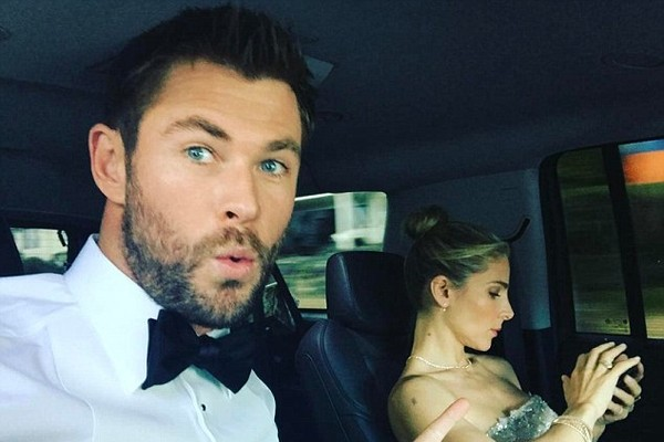 Chris Hemsworth e Elsa Pataky (Foto: Instagram)
