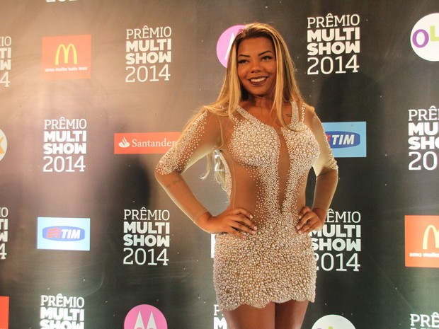 Mc Ludmilla em prêmio de música no Rio (Foto: Claudio Andrade e Thyago Andrade/ Foto Rio News)
