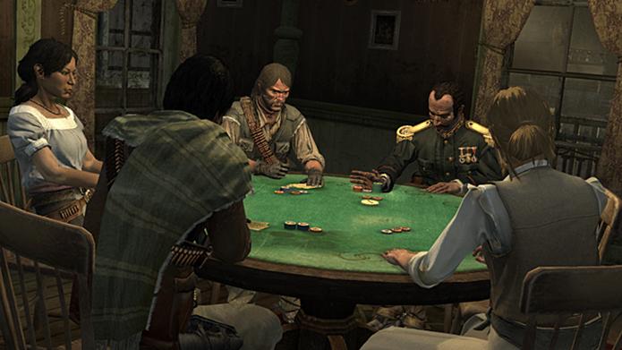 Liars Dice era um dos minigames mais queridos do multiplayer de Red Dead Redemption (Foto: Divulgação/Rockstar)