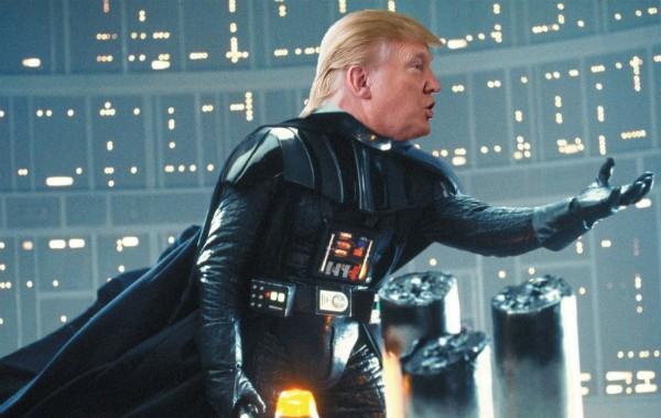 Donald Trump como Darth Vader (Foto: Reprodução)