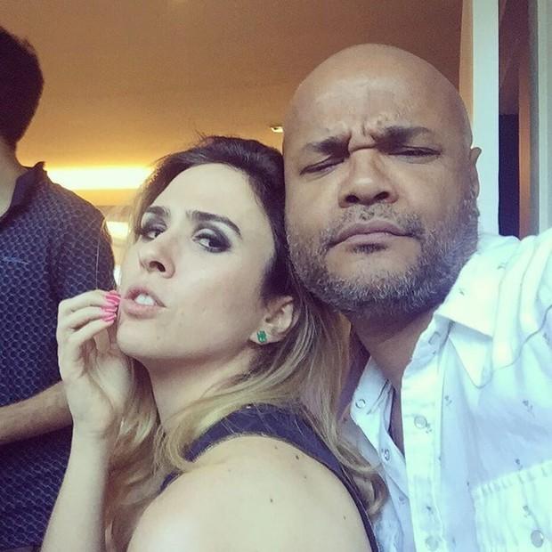 Tatá Werneck e Alê de Souza (Foto: Instagram / Reprodução)