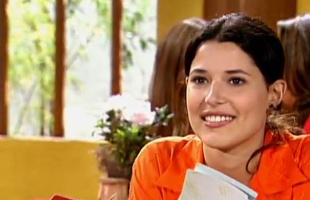Manuela do Monte viveu Luísa na temporada de 2003, formando o casal protagonista com Sérgio Marone (Foto: Reprodução)