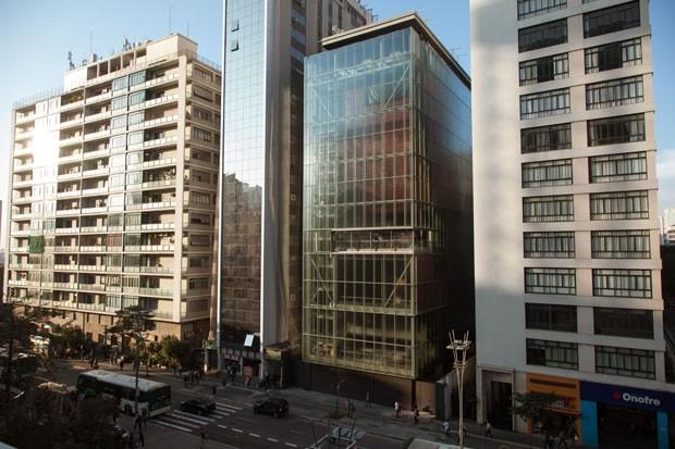 SÃO PAULO, SP - 23 AGOSTO 2017: Construção do novo predio do Instituto Moreira Salles. (foto: bruno fernandes). (Foto: Divulgação)