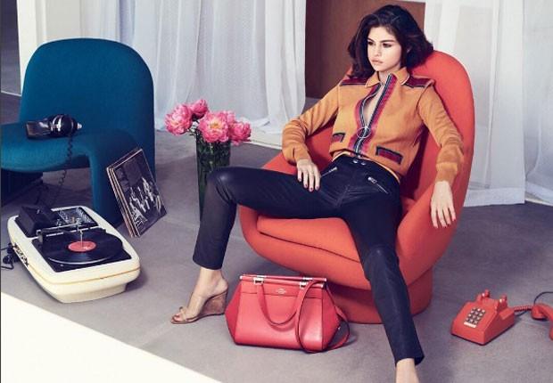 Selena fez ensaio sofisticado (Foto: Reprodução In Style)