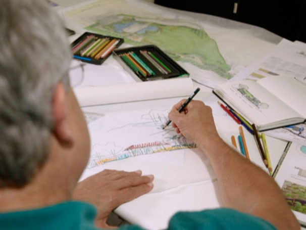 Sérgio Santana trabalha para conciliar meio ambiente e construções (Foto: Reprodução)
