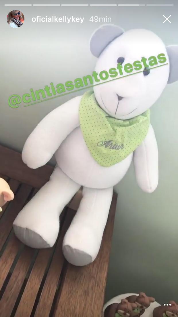 Preparativos para o nascimento de Artur, filho de Kelly Key (Foto: Reprodução/Instagram)