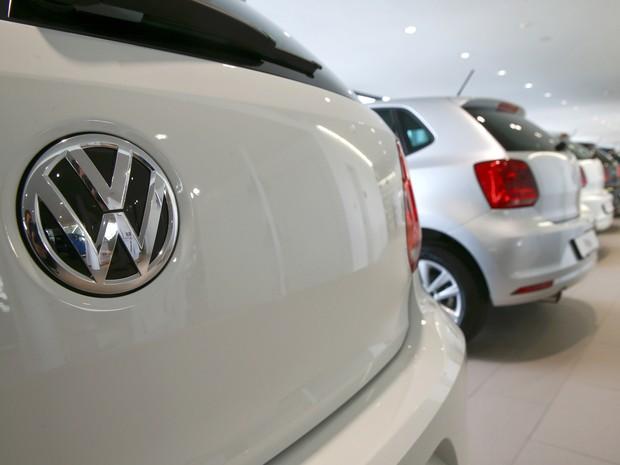 Volkswagen sofre com escândalo de fraude em emissões de poluentes (Foto: REUTERS/Arnd Wiegmann)