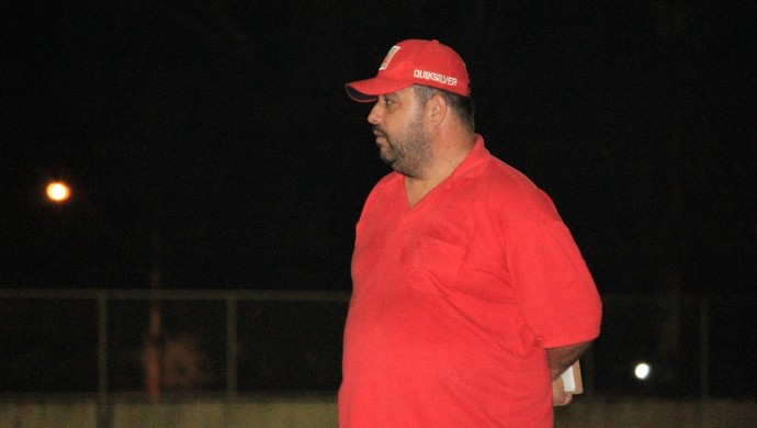 Fernando Lage, técnico do Náutico-RR (Foto: Nailson Wapichana)