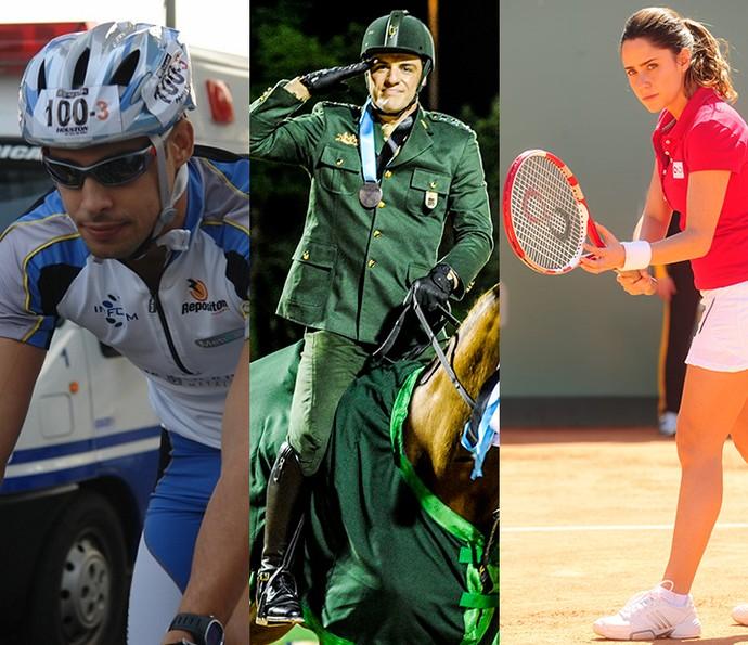 Entre no espírito olímpico com o Gshow (Foto: Globo/Matheus Cabral/João Miguel Júnior)