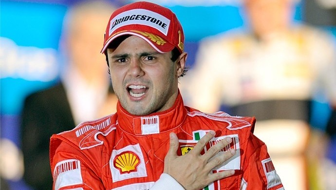 Felipe Massa GP do Brasil de 2008 (Foto: Reprodução)