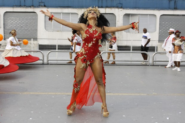 Simone Sampaio (Foto: Celso Tavares/EGO)