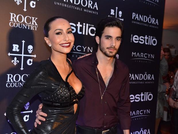 Sabrina Sato e Fiuk em festa em São Paulo (Foto: Caio Duran/ Foto Rio News)
