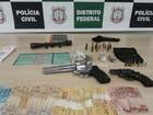 Apontados de comandar tráfico em Sobradinho, no DF, são presos