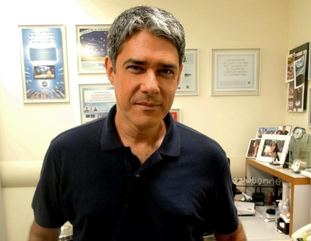 William Bonner (Foto: Divulgação/ TV Globo)