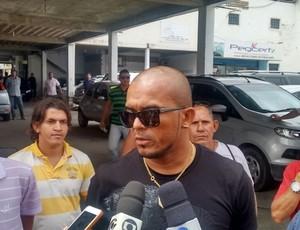 Zé Carlos, atacante do CRB (Foto: Márcio Chagas/G1)
