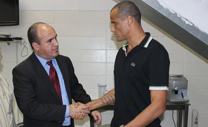 Rivaldo presidente Mogi Mirim (Foto: Reprodução / Facebook)
