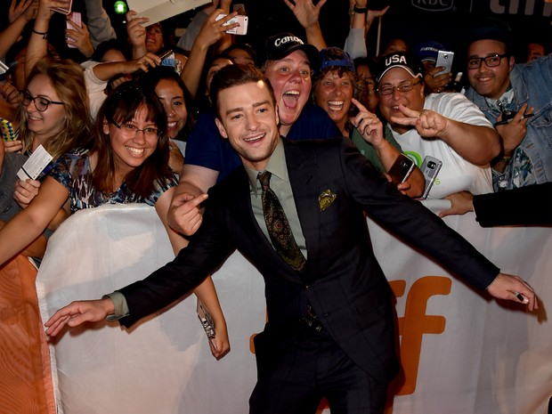 Justin Timberlake no festival de cinema de Toronto, no Canadá (Foto: Kevin Winter/ Getty Images/ AFP)