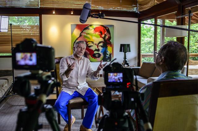 Miguel Falabella em 'Donos da história' (Foto: Alex Carvalho)