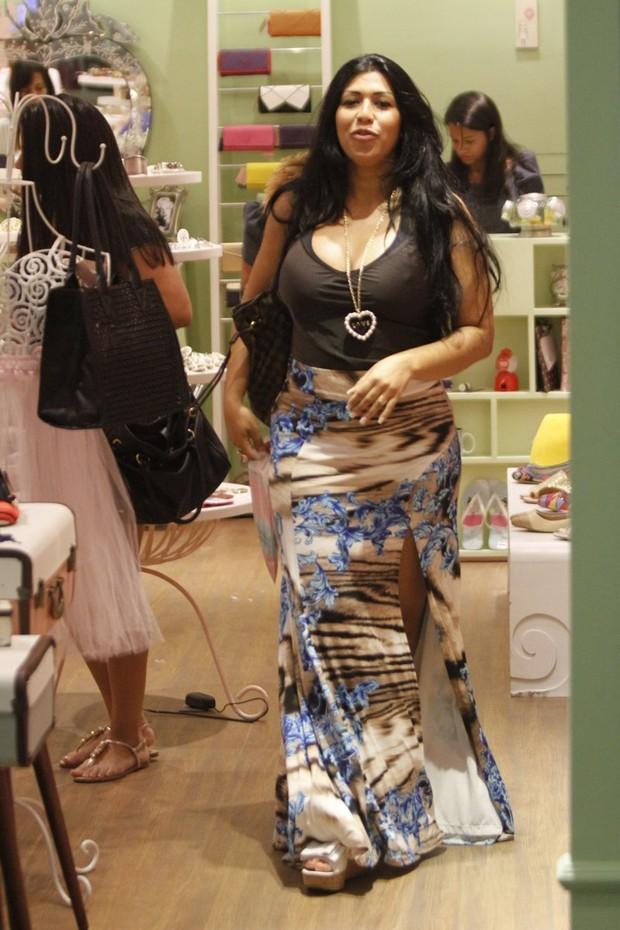 Ellen Cardoso (mulher Moranguinho)  (Foto: Marcos Ferreira / photo rio news)