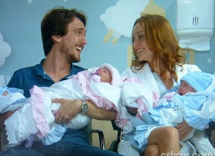 Final: Quatro vezes amor! Priscila e Marcelo se tornam pais