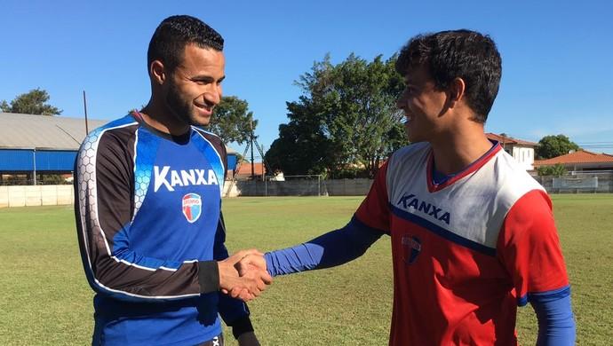 Camilo e Laguna, Grêmio Prudente (Foto: Murilo Rincon / GloboEsporte.com)