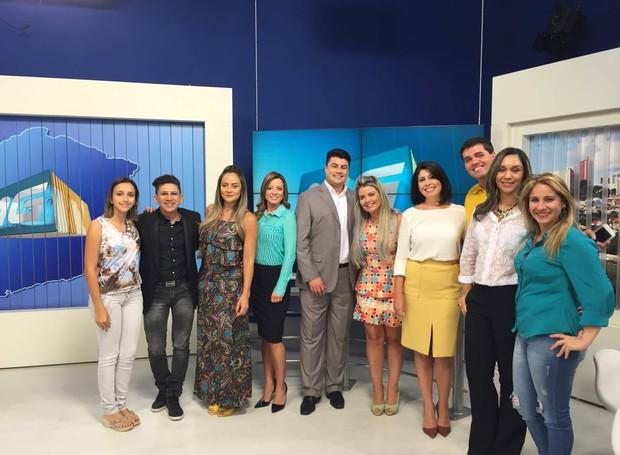 Ação foi realizada para apresentar aos formadores de opinião os novos apresentadores da emissora (Foto: Raul Neto)