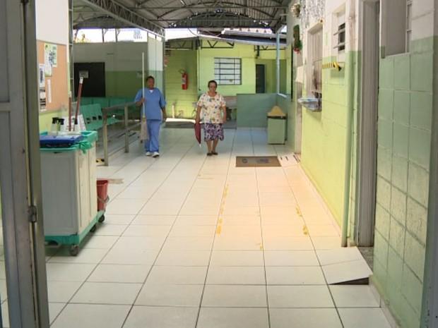 UPA de Sumaré está vazia por conta da falta de médicos (Foto: Reprodução/EPTV)