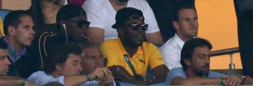 Bolt acompanha 90 minutos da final do futebol olímpico no Rio (Reuters)