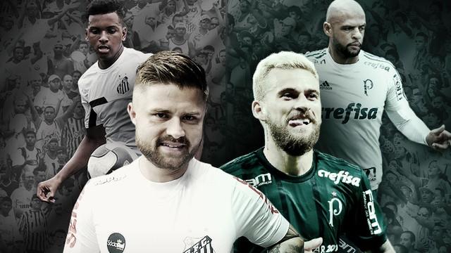 Palmeiras x Santos - Campeonato Paulista 2018-2018 - globoesporte.com 17698e748a707